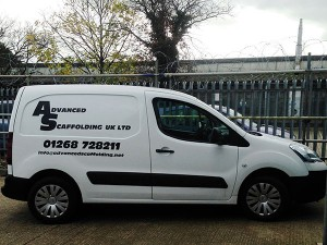 van-photo-advanced-scaffolding-uk-essex