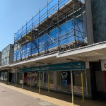 Scaffolding at Essex Youth Centre, Basildon